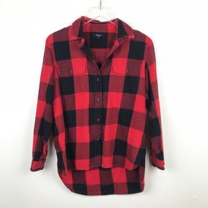 Madewell | Buffalo Check Flannel Button Down S